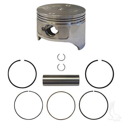 Piston and Ring Set, Standard,  E-Z-Go 4-cycle Gas 96-03 350cc