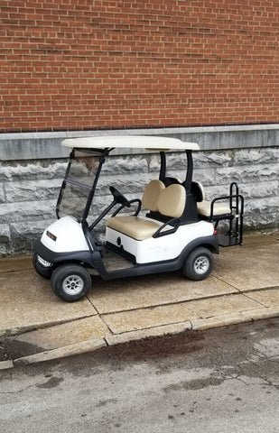 4 passenger Club Car Precedent EFI gas Golf Cart