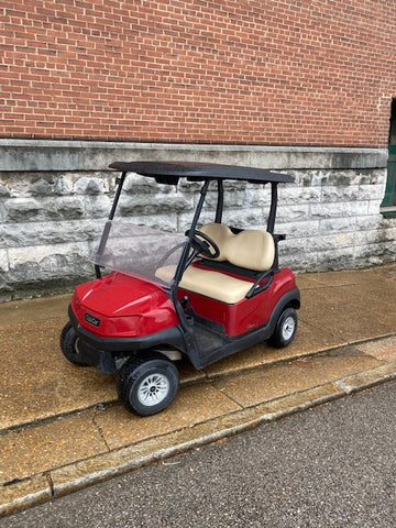 2018 Club Car Tempo EFI gas golf cart 2 passenger