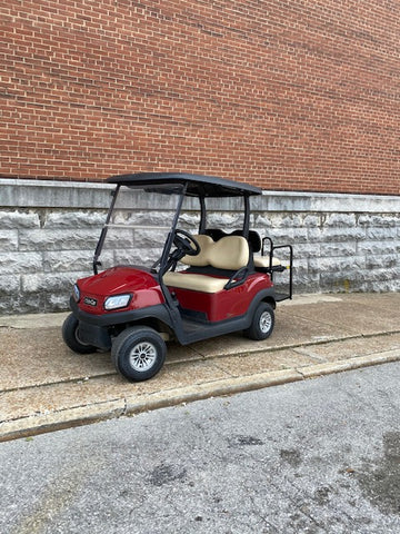 2018 Club Car Tempo Street Ready EFI gas golf cart 4 passenger