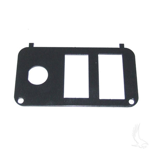 Console Plate, w/ Forward/Reverse Switch & Vertical State of Charge Meter, E-Z-Go PDS