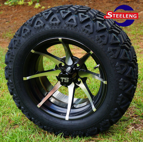 "14""x7"" KRAKEN WHEELS and 23""x10""-14"" ALL TERRAIN TIRES (SET OF 4)"