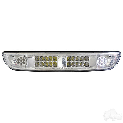 LED Headlight Bar, E-Z-Go Medalist/TXT w/ Aftermarket Plugs 94-13