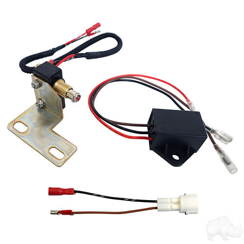 Brake Switch w/ Bracket, Plug & Play, E-Z-Go RXV Gas