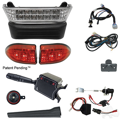 Build Your Own LED Light Bark Kit, Club Car Precedent 08.5 w/ 8V (Deluxe, Linkage)