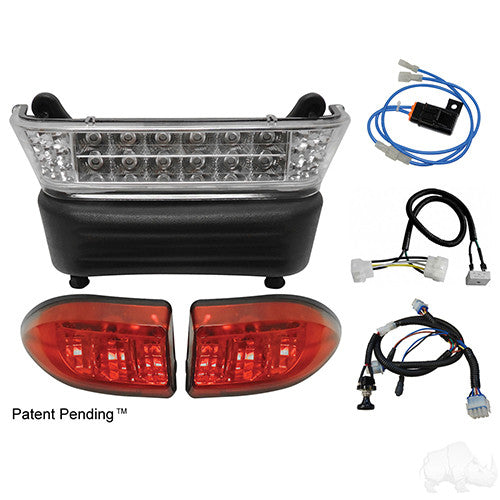LED Light Bar Kit, Club Car Precedent 04+ Gas