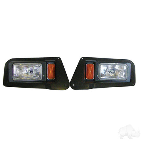 Adjustable Headlights with Bezels, Yamaha Drive