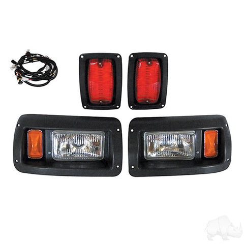 Adjustable Light Kit w/ Plug & Play, Club Car DS