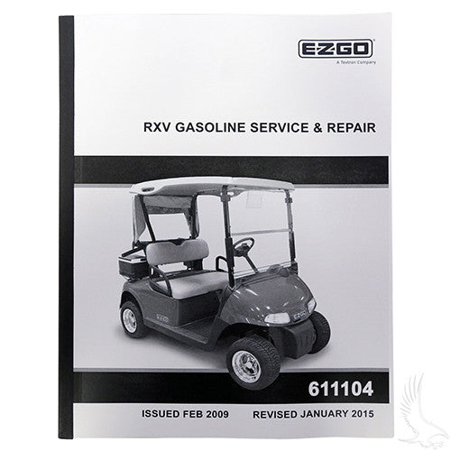 Service Manual, E-Z-Go RXV Gas