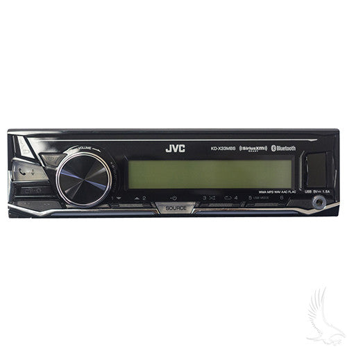 Stereo, JVC Receiver with Polk Audio Speakers