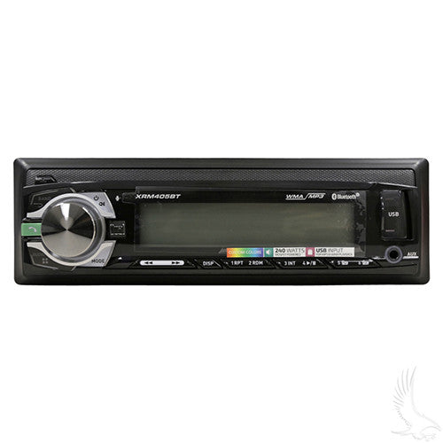 Dual In-Dash AM/FM, Bluetooth Digital Media Receiver w/USB/Aux Inputs- No Speakers