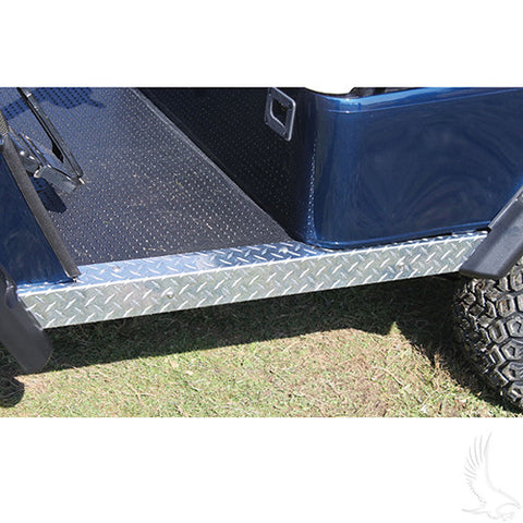 Rocker Panel Set, Diamond Plate, E-Z-Go Medalist/TXT 96+