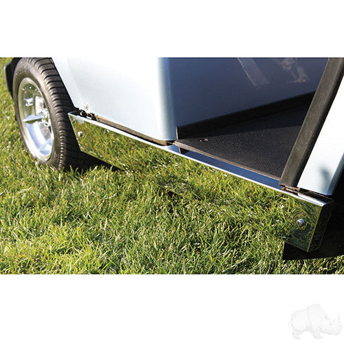 Rocker Panels, Stainless Steel, Yamaha