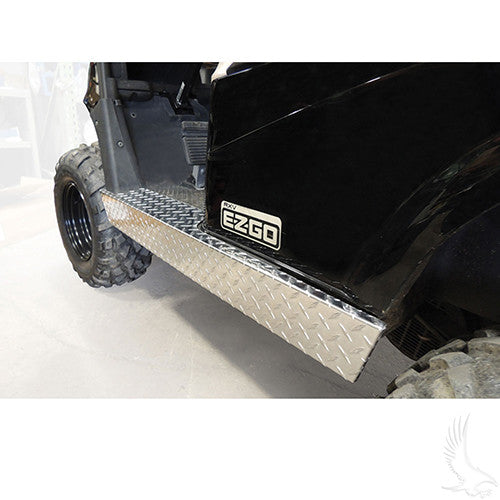 Rocker Panels, Diamond Plate, E-Z-Go RXV