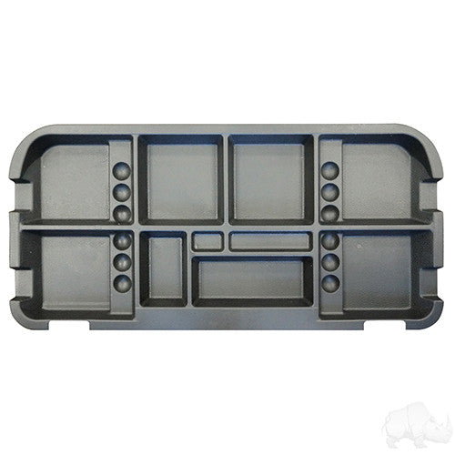 Underseat Storage Tray, Black, E-Z-Go 94+  Electric Only