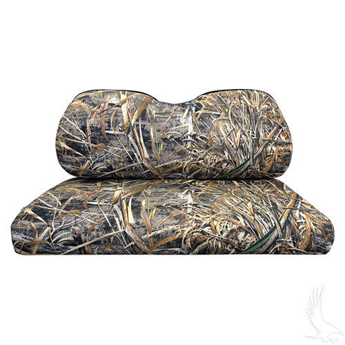 Seat Back & Bottom Covers, Realtree MAX-5, Club Car Precedent
