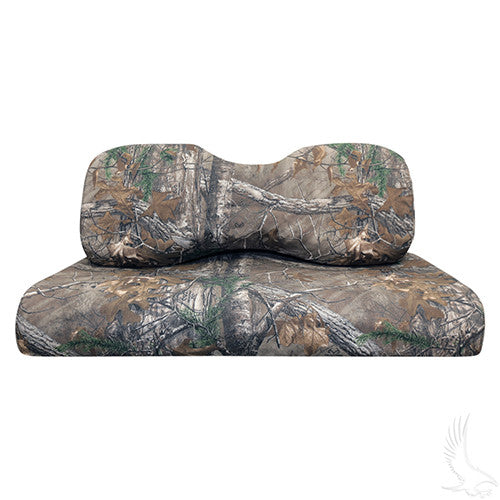Seat Covers Back & Bottom, Realtree XTRA, Yamaha Drive