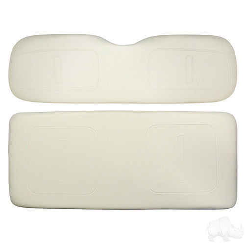 Flip Cushion, White, E-Z-Go TXT, Super Saver Seats
