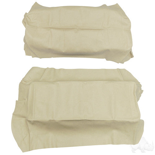 Flip Cover Set, Beige, Club Car Precedent, Super Saver Seats