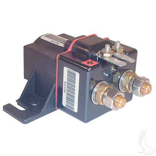 Solenoid, 48V 4 Terminal Copper, Club Car Electric 95+