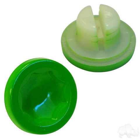 Color Wheel Inserts, BAG OF 12, Lime Green