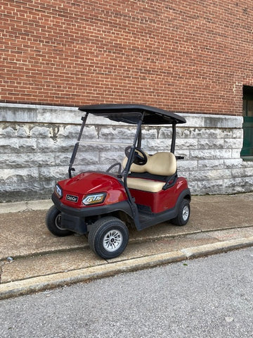 2018 Club Car Tempo Street Ready EFI gas golf cart 2 passenger