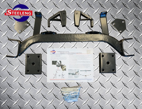"4"" DROP AXLE LIFT KIT EZGO TXT (1994‐2001.5, GAS)"