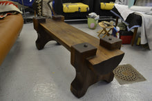 Brazilian Modern Exotic Wood Bench