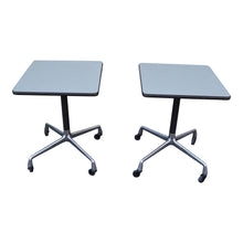 Pair of Eames for Herman Miller Aluminum Group Side Tables