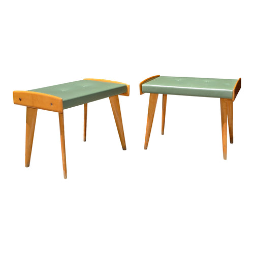 2 Foot Stools Attributed to Ico & Luisa Parisi