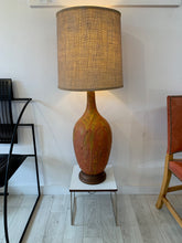 Lava Glaze Mid Century Modern Lamp after Marcello Fantoni