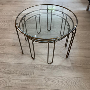 Set of three Modernist Nesting Tables