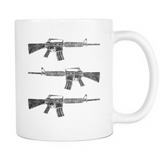 This We'll Defend® - AR-15 - 11oz White Coffee Mug