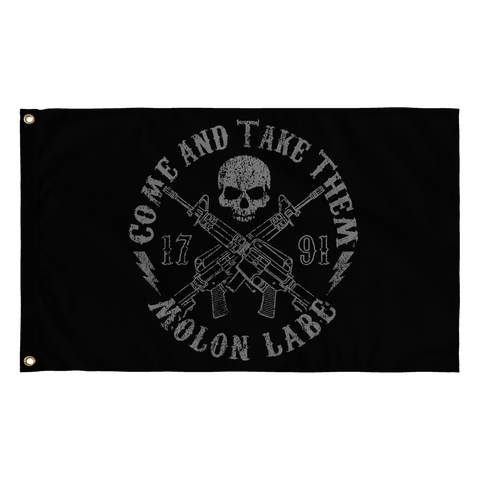 "Come And Take Them - Reaper - 36"" x 60"" Flag"