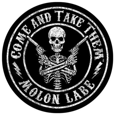"5"" Come And Take Them™ Sticker Molon Labe Decal Second 2nd Amendment 3"" Second Amendment Brand ""Circle Seal"" Decal Sticker 2nd by This Well Defend®"