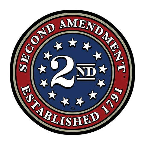 "3"" Second Amendment Brand ""Circle Seal"" Decal Sticker 2nd by This Well Defend®"