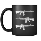 This We'll Defend® - 11oz Black Coffee Mug