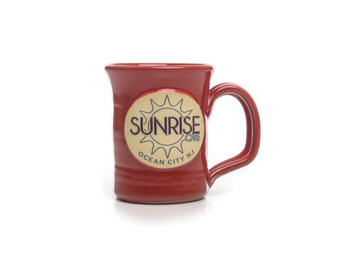 Ocean City NJ Mug Sunrise Cafe Mug