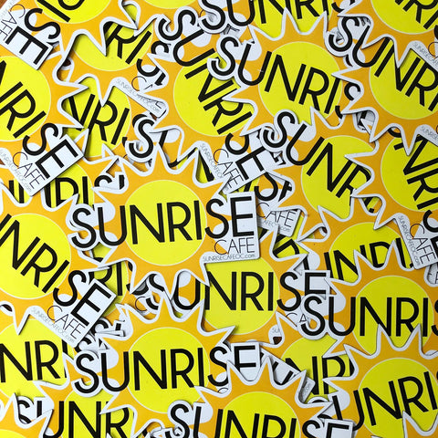 Sunrise Cafe Ocean City NJ Car Magnets