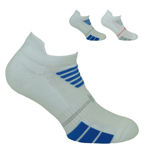 2PK Multi Sport Basic Cotton Low Cut Sock With Back Tab Style: LUKE