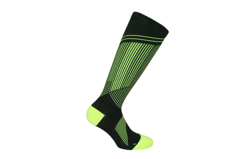 Sport Compression  Microfiber Long Calf  Men's Sock Style: DAVID
