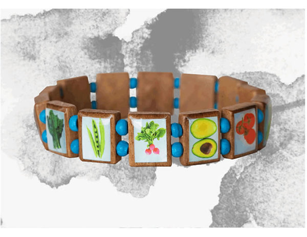 Veggie Bracelet (Light Blue)