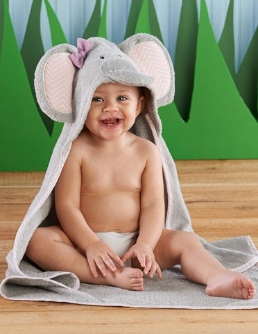 Elephant Hooded Spa Towel