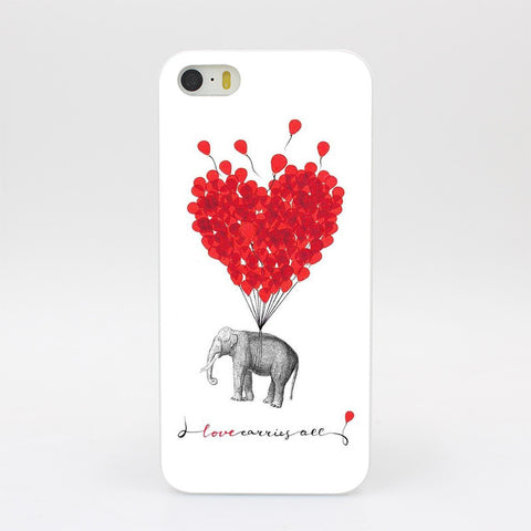 Elephant Love iPhone Case