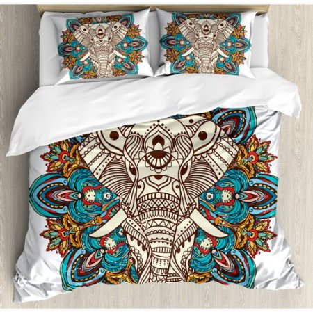 Elephant Bedding Duvet Cover