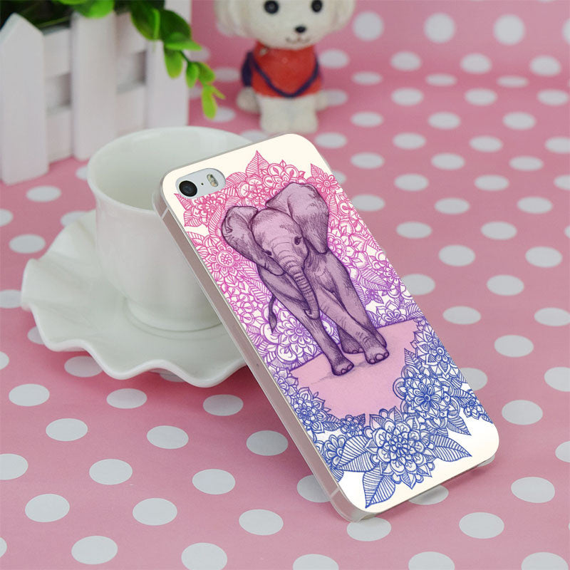 Lovely Elephant iPhone Case