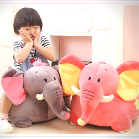 Elephant Baby Plush Chair