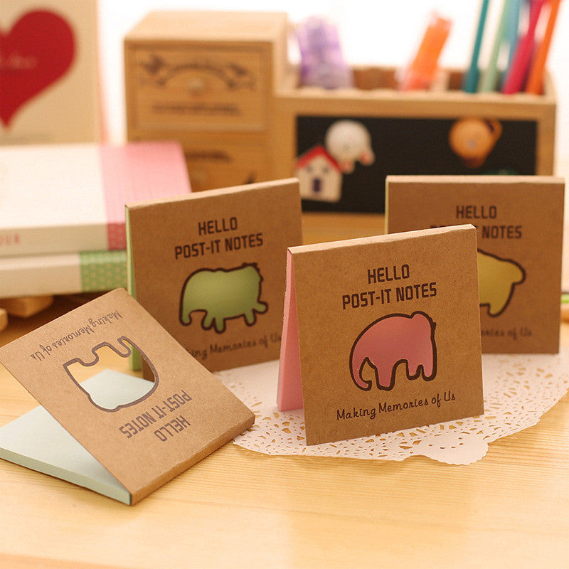 Elephant Sticky Notes