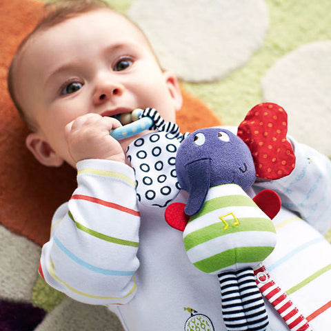 Elephant Baby Teether Toy