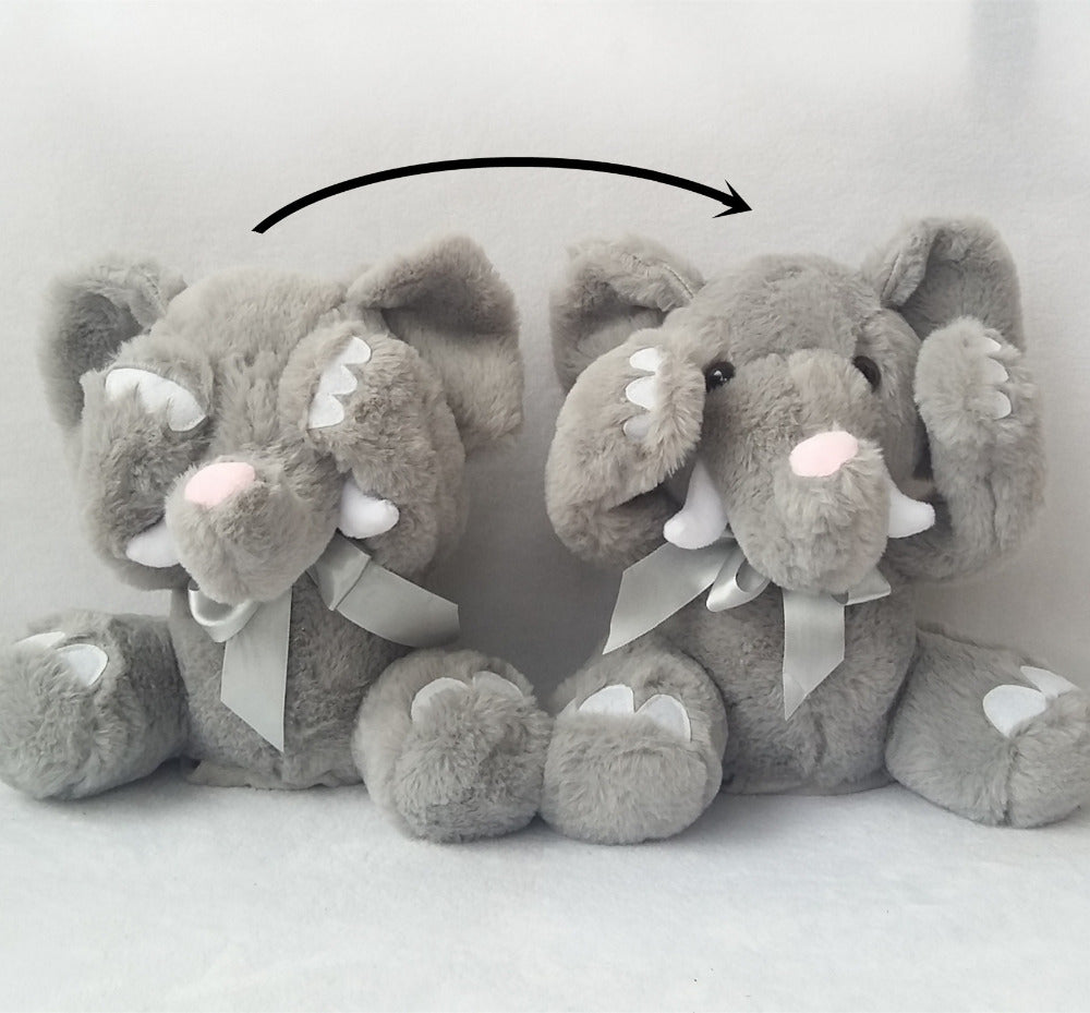 Elephant Peek-a-Boo Plush Toy